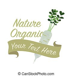 Colorful watercolor texture vector nature organic vegetable...