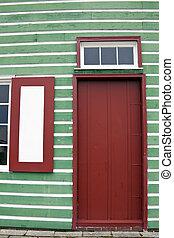 Colorful Window Shutters