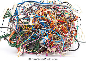 Colorful wire