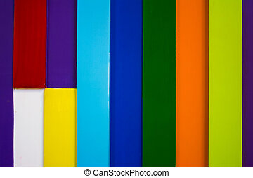 colorful wooden wall background 3