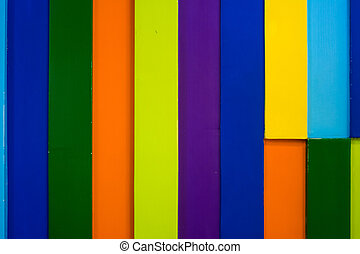 colorful wooden wall background 4