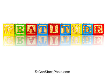colorful word on the white background