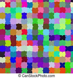 Colorfull pazzle background