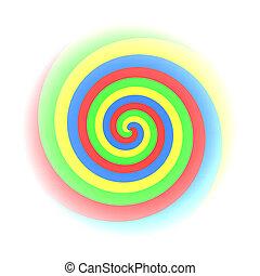 Colorfull Twirl