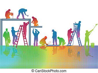 colori, artigiano