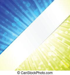 colori, moderno, due, fondo