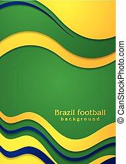 colori, onde, fondo, brasiliano