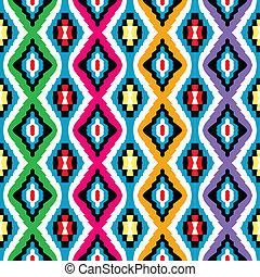 colorido, étnico, textura