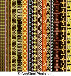 colorido, arabescos, textura, étnico, ornamentos, fundo, africano, geométrico
