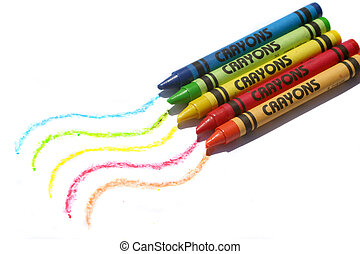 colorido, carboncillos