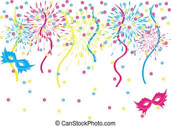 colorido, carnaval