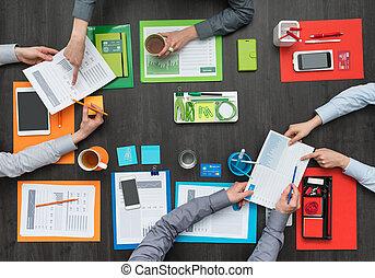 colorido, creativo, espacio de trabajo