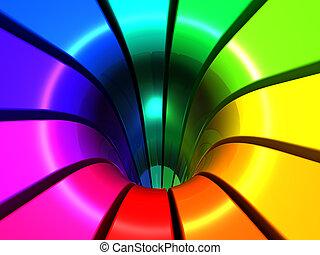colorido, diseño abstracto, plano de fondo