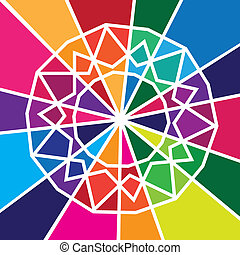 colorido, diseño abstracto