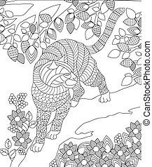 colorido, ilustración