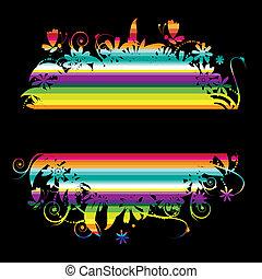 colorido, plano de fondo, con, lugar, para, su, texto