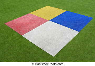 colorido, rectángulos, plano de fondo