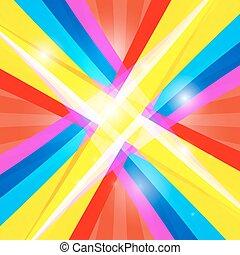 colorido, resumen, brillante, retro, plano de fondo