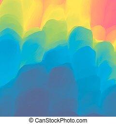 colorido, resumen, fondo., multicolor, diseño, template.