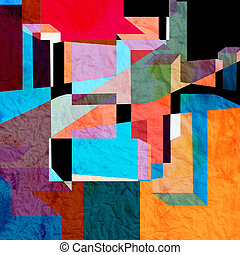 colorido, resumen, plano de fondo