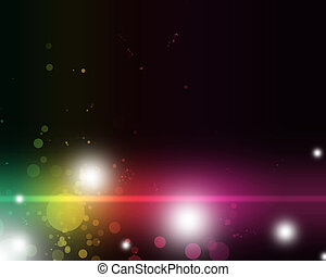 colorido, resumen, vibrante, luz, sombras, emocionante