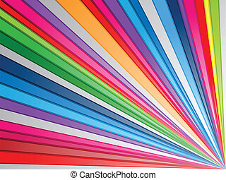 colorido, salpicadura