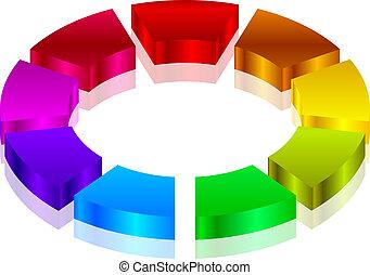 coloridos, ícone