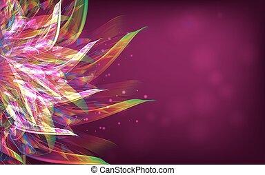 coloridos, abstratos, flover, desktop, vetorial, fundo,...