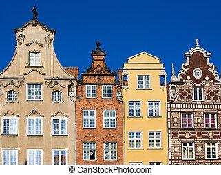 coloridos, casas