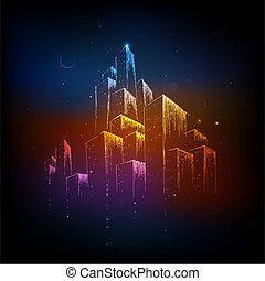 coloridos, cidade