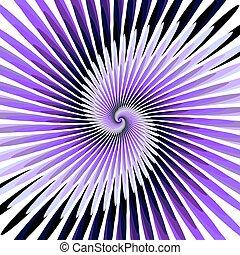 coloridos, desenho, espiral, fundo, movimento