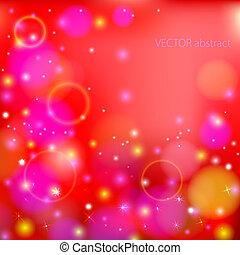 coloridos, fundo, vetorial, abstratos