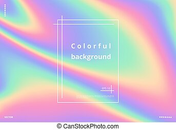 coloridos, holographic, fundo
