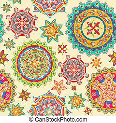 coloridos, padrão floral