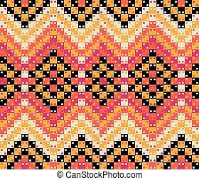 coloridos, padrão, pattern., seamless, superfície, vetorial, óptico, geomã©´ricas, ilusão, design.