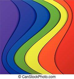 coloridos, pilha, fundo