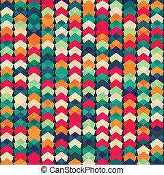 coloridos, têxtil, seamless, padrão