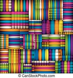 coloridos, têxtil, seamless, pattern.