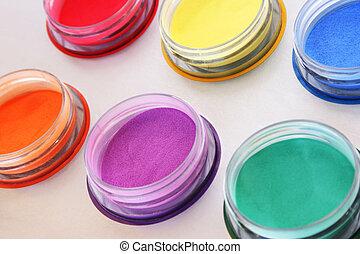 coloridos, tintas