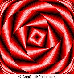 coloridos, vórtice, desenho, fundo, movimento, ilusão, circular