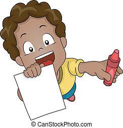 Coloring Book Boy
