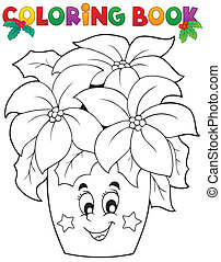 Coloring book Christmas thematics 3 - eps10 vector...
