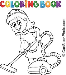 Coloring book cleaning