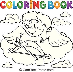 Coloring book Cupid topic 7