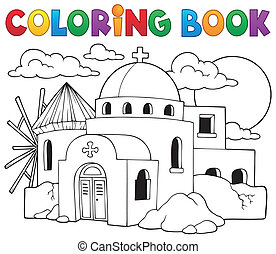 Coloring book Greek theme 2