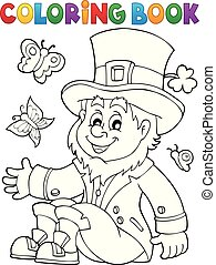 Coloring book leprechaun 3