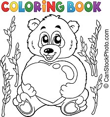 Coloring book Valentine
