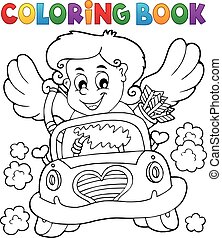 Coloring book with Cupid 4