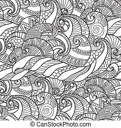 Seamless Pattern from wavesvector