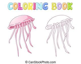 Coloring jellyfish